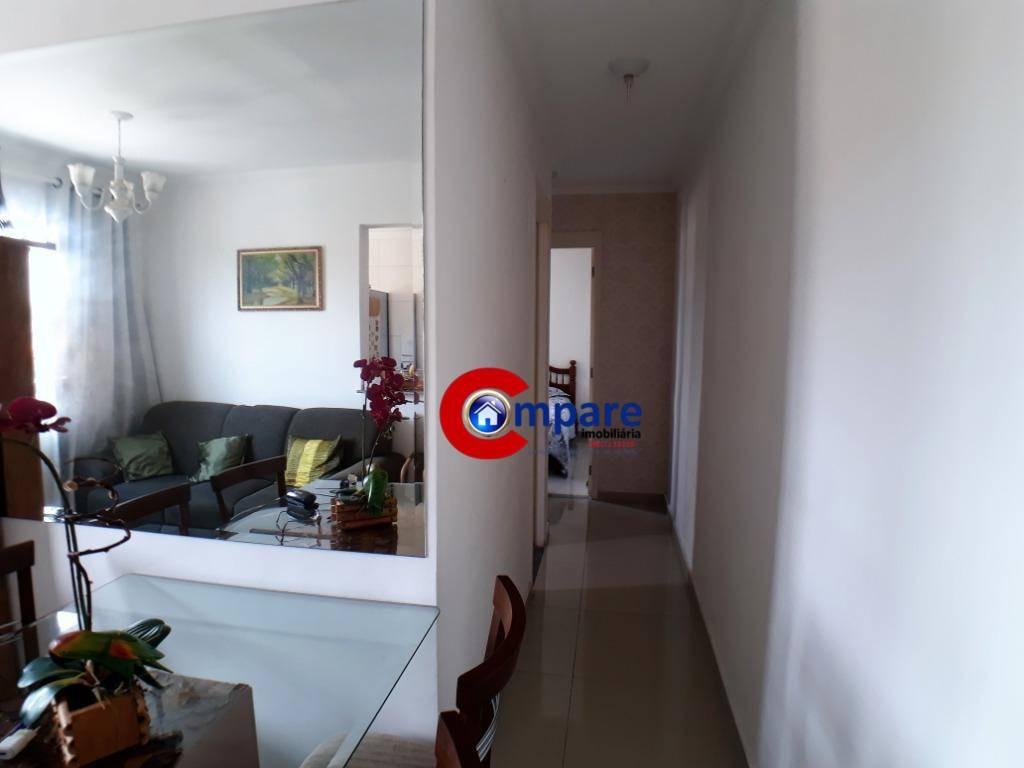 apartamento com 2 dormitórios à venda, 45 m² por r$ 269.000 - vila augusta - guarulhos/sp - ap6781