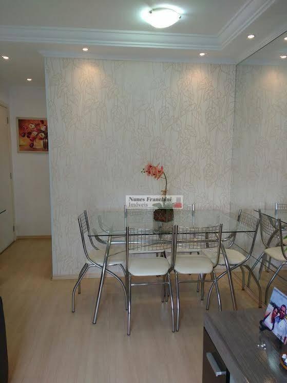 apartamento com 2 dormitórios à venda, 45 m² por r$ 270.000  rua professor josé soares de mello, 179 - vila nova cachoeirinha - são paulo/sp - ap5491