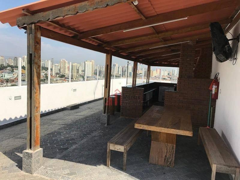 apartamento com 2 dormitórios à venda, 45 m² por r$ 320.000,00 - tatuapé - são paulo/sp - ap5960