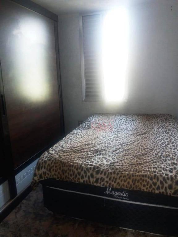 apartamento com 2 dormitórios à venda, 46 m² por r$ 130.000 - cidade tiradentes - são paulo/sp - ap4161