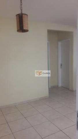 apartamento com 2 dormitórios à venda, 46 m² por r$ 200.000 - vila industrial - campinas/sp - ap7215