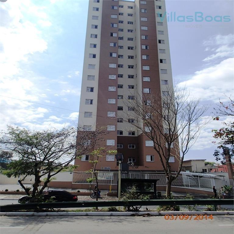 apartamento com 2 dormitórios à venda, 46 m² por r$ 230.000,00 - jardim satélite - são josé dos campos/sp - ap4573