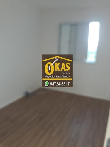 apartamento com 2 dormitórios à venda, 46 m² por r$ 240.000 - parque suzano - suzano/sp - ap0402