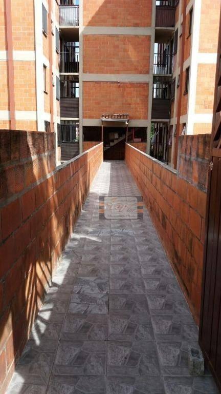 apartamento com 2 dormitórios à venda, 47 m² por r$ 135.000 - jaraguá - são paulo/sp - ap1108