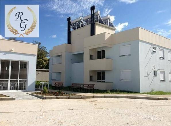 apartamento com 2 dormitórios à venda, 47 m² por r$ 155.000,00 - sitio são josé - viamão/rs - ap0012