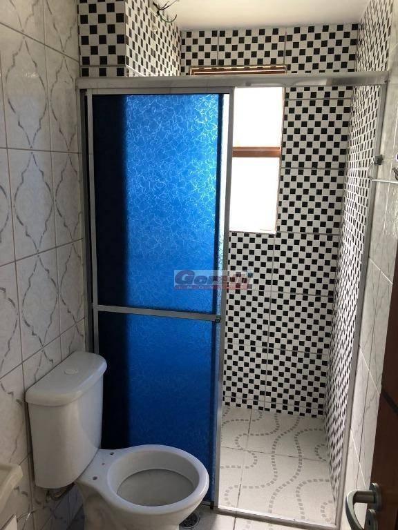 apartamento com 2 dormitórios à venda, 47 m² por r$ 160.000 - village - itaquaquecetuba/sp - ap0417