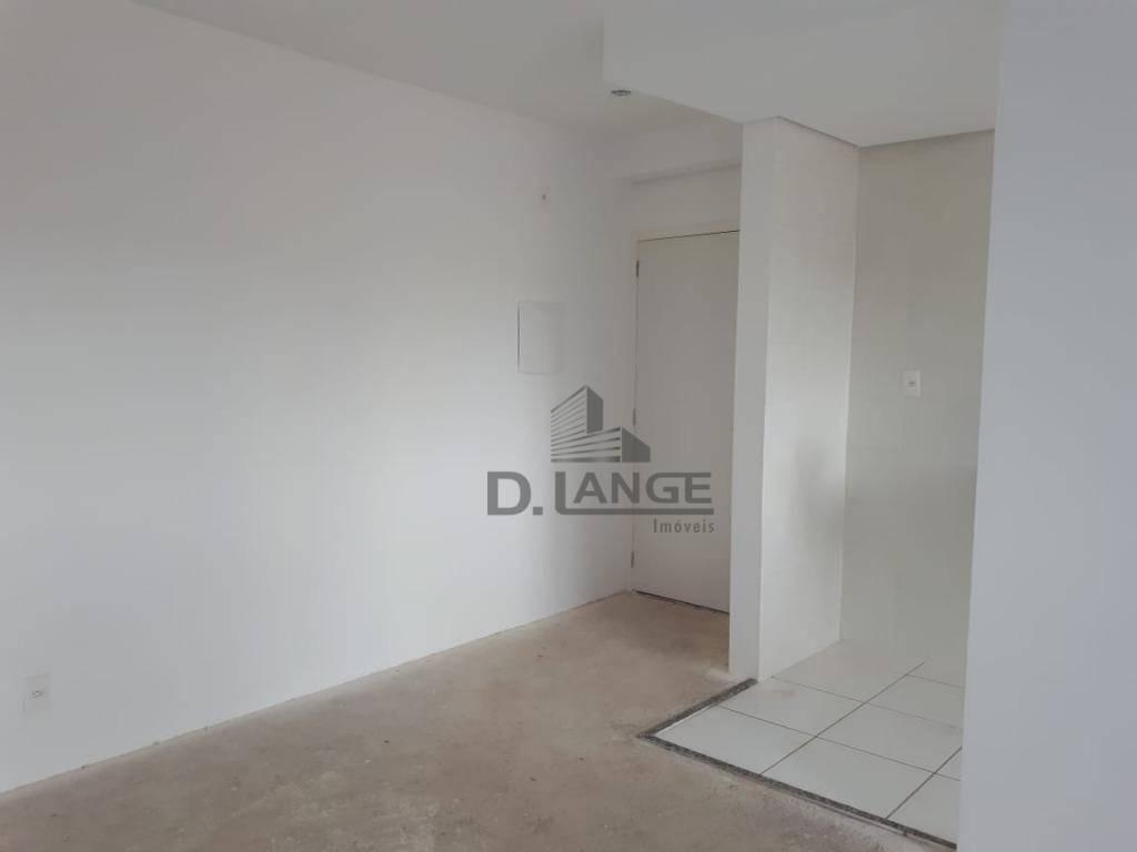 apartamento com 2 dormitórios à venda, 47 m² por r$ 200.000,00 - ortizes - valinhos/sp - ap18097