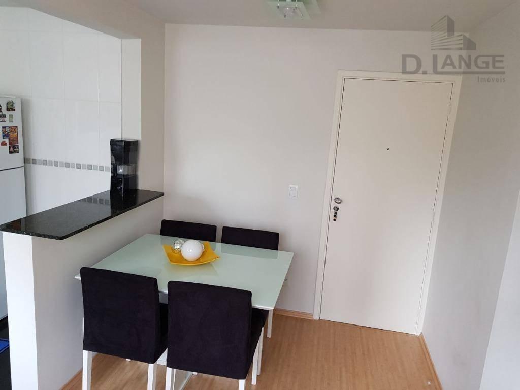 apartamento com 2 dormitórios à venda, 47 m² por r$ 240.000 - jardim nova europa - campinas/sp - ap16137