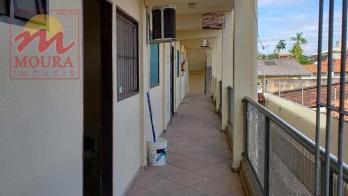 apartamento com 2 dormitórios à venda, 48 m² por r$ 100.000 - universidade - macapá/ap - ap0057