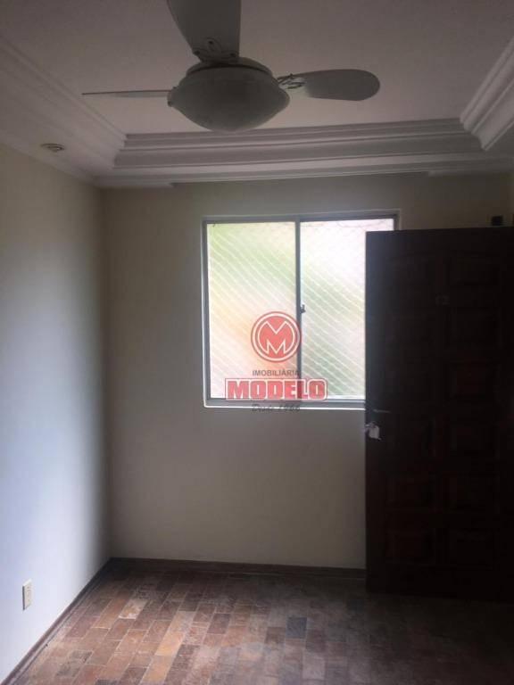 apartamento com 2 dormitórios à venda, 48 m² por r$ 110.000 - jardim nova república - piracicaba/sp - ap2689