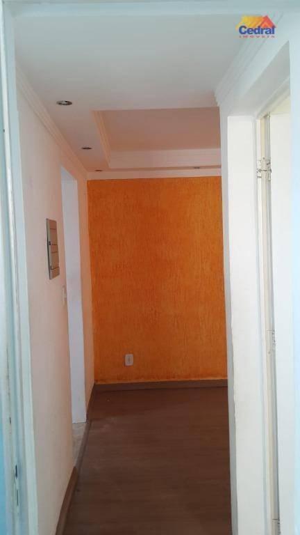 apartamento com 2 dormitórios à venda, 48 m² por r$ 140.000,00 - jardim marica - mogi das cruzes/sp - ap0825