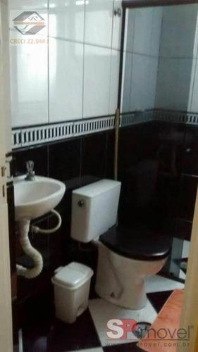apartamento com 2 dormitórios à venda, 48 m² por r$ 149.000 - parque nações unidas - são paulo/sp - ap5398