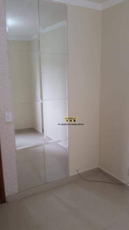 apartamento com 2 dormitórios à venda, 48 m² por r$ 170.000 - jardim triângulo - ferraz de vasconcelos/sp - ap0166