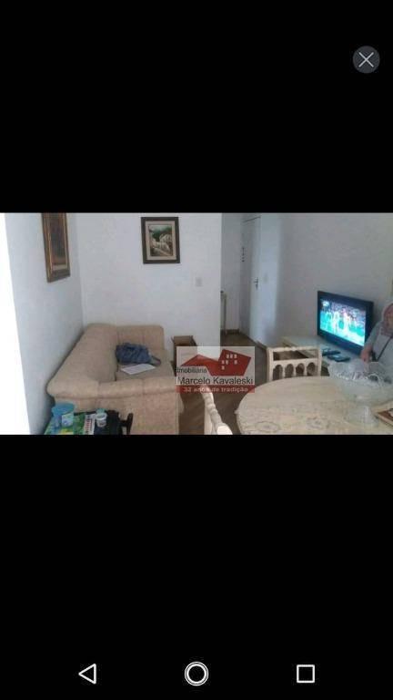 apartamento com 2 dormitórios à venda, 48 m² por r$ 270.000 - ipiranga - são paulo/sp - ap8769
