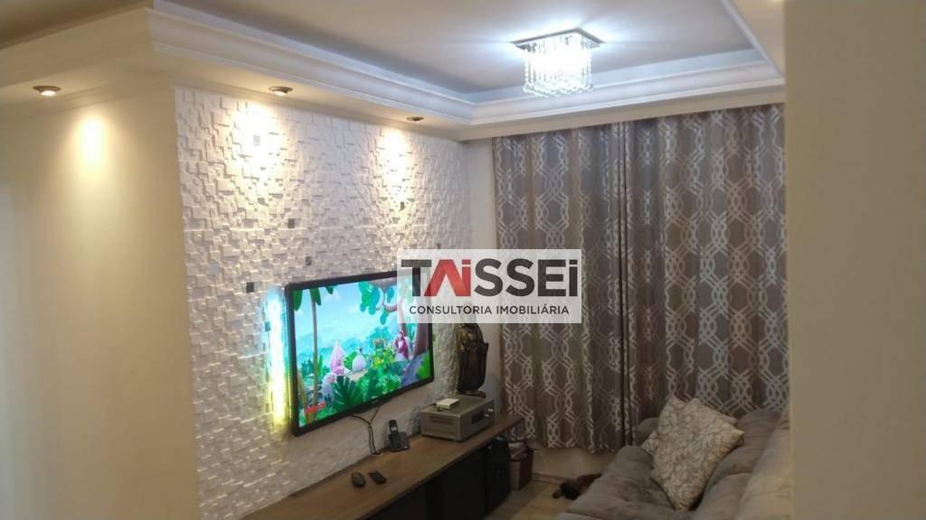 apartamento com 2 dormitórios à venda, 48 m² por r$ 325.000,00 - sacomã - são paulo/sp - ap5870