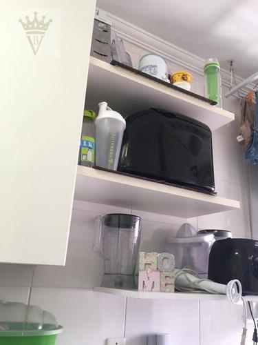 apartamento com 2 dormitórios à venda, 48 m² por r$ 450.000 - barra funda - são paulo/sp - ap2507
