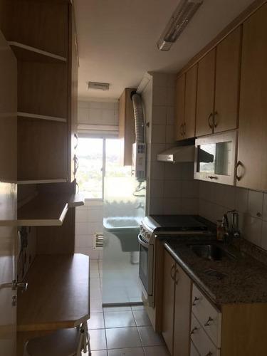 apartamento com 2 dormitórios à venda, 49 m² - paulicéia - são bernardo do campo/sp - ap61594