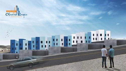 apartamento com 2 dormitórios à venda, 49 m² por r$ 135.000,00 - vila formosa - anápolis/go - ap0263