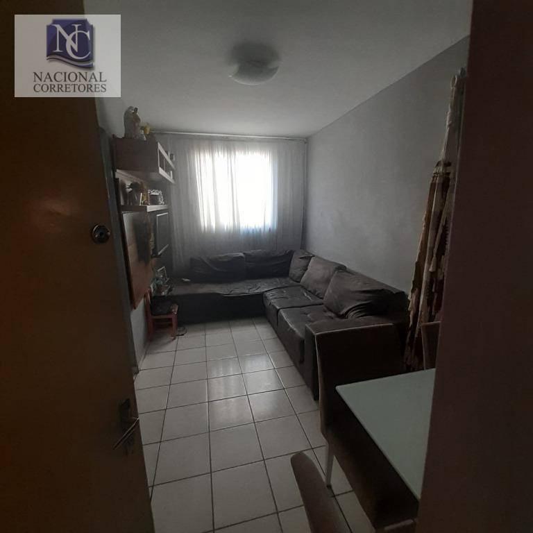 apartamento com 2 dormitórios à venda, 49 m² por r$ 170.000,00 - parque das nações - santo andré/sp - ap10334