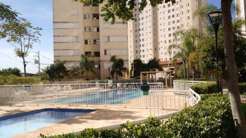 apartamento com 2 dormitórios à venda, 49 m² por r$ 175.000 - ponte grande - guarulhos/sp - ap13798