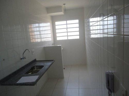 apartamento com 2 dormitórios à venda, 49 m² por r$ 266.000 - jardim santana - valinhos/sp - ap15680
