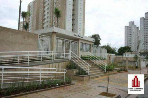 apartamento com 2 dormitórios à venda, 49 m² por r$ 298.000 - tatuapé - são paulo/sp - ap1042