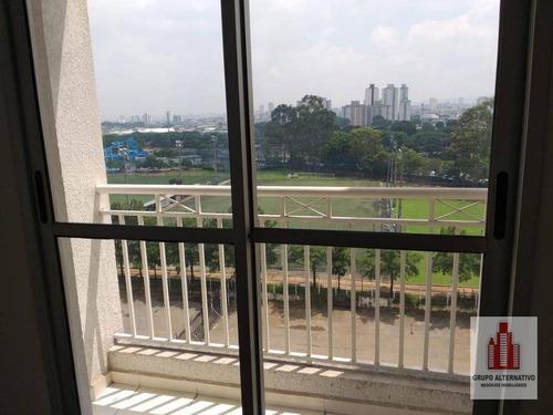 apartamento com 2 dormitórios à venda, 49 m² por r$ 298.000,00 - tatuapé - são paulo/sp - ap1039