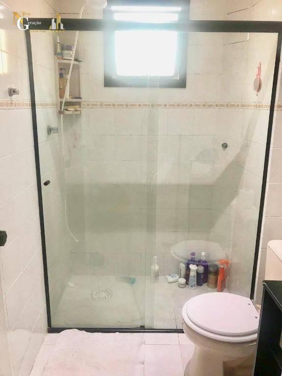 apartamento com 2 dormitórios à venda, 50 m² por r$ 160.000,00 - tupi - praia grande/sp - ap2393