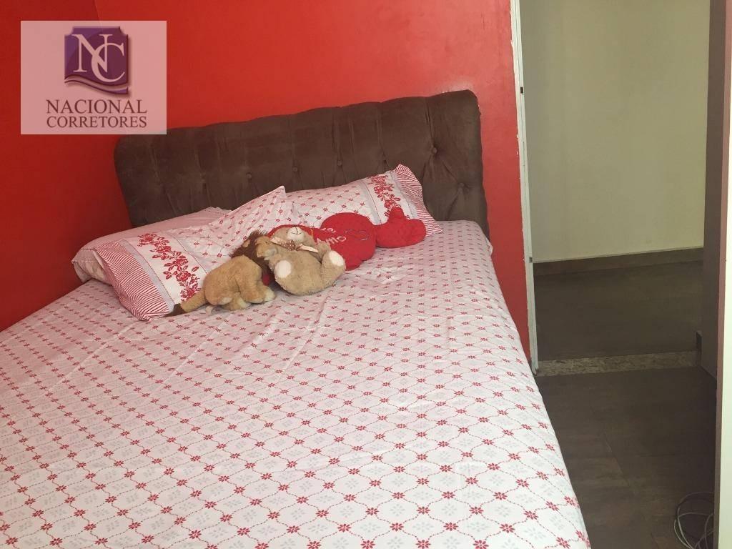apartamento com 2 dormitórios à venda, 50 m² por r$ 175.000 - vila curuçá - santo andré/sp - ap9746
