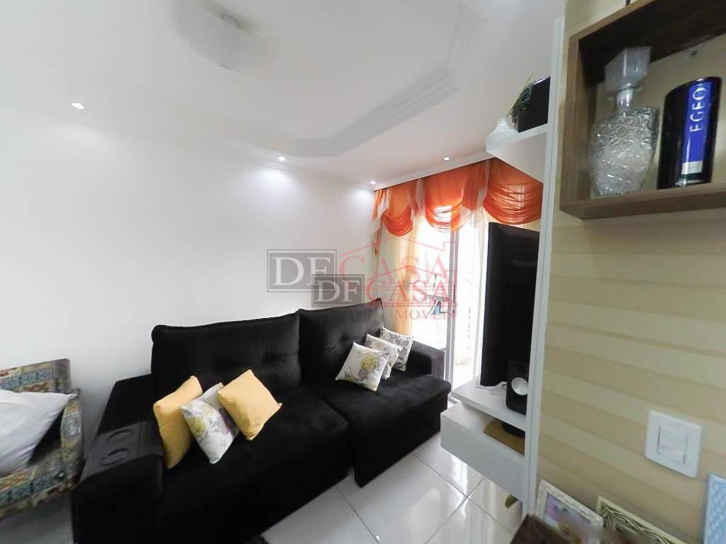 apartamento com 2 dormitórios à venda, 50 m² por r$ 190.000 - jardim são miguel - ferraz de vasconcelos/sp - ap4636