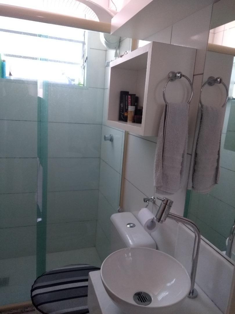 apartamento com 2 dormitórios à venda, 50 m² por r$ 210.000,00 - alto da boa vista - sorocaba/sp - ap7088