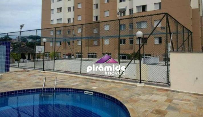 apartamento com 2 dormitórios à venda, 50 m² por r$ 210.000,00 - jardim satélite - são josé dos campos/sp - ap10440