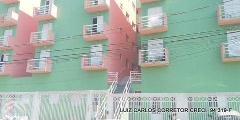 apartamento com 2 dormitórios à venda, 50 m² por r$ 220.900 - parque assunção - taboão da serra/sp - ap0011