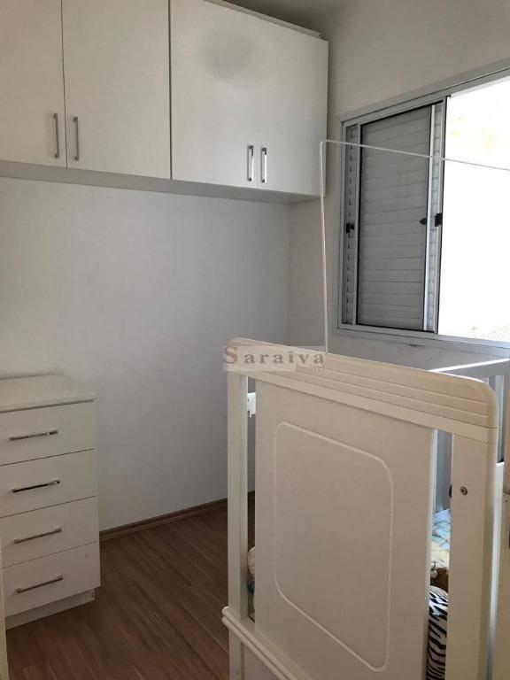apartamento com 2 dormitórios à venda, 50 m² por r$ 225.000,00 - assunção - são bernardo do campo/sp - ap1392