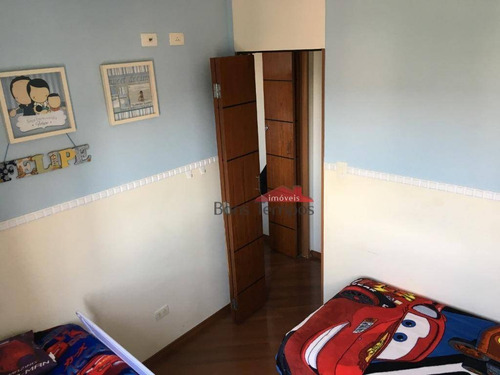 apartamento com 2 dormitórios à venda, 50 m² por r$ 240.000 - vila ré - são paulo/sp - ap4164