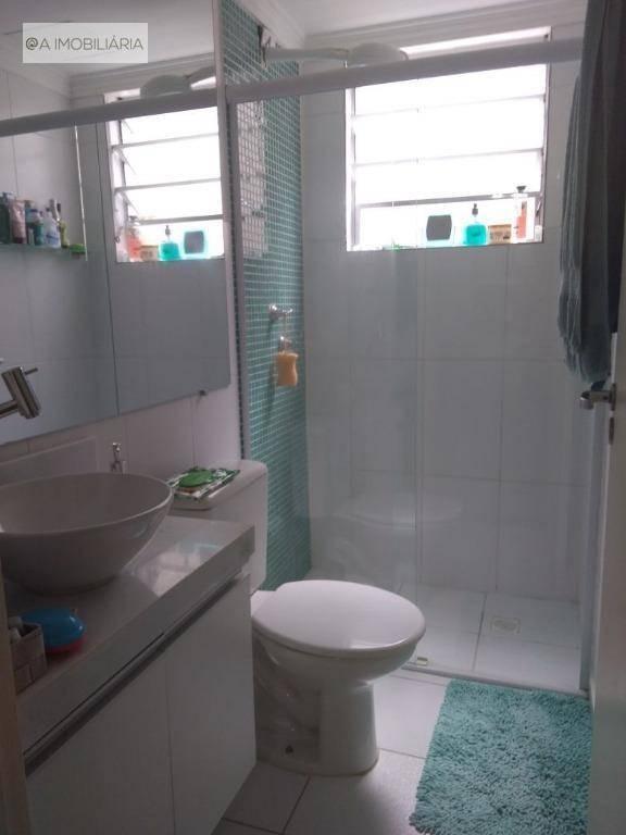 apartamento com 2 dormitórios à venda, 50 m² por r$ 250.000 - taboão - são bernardo do campo/sp - ap0536