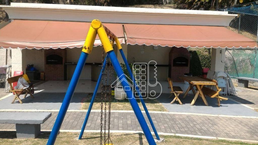 apartamento com 2 dormitórios à venda, 50 m² por r$ 250.000,00 - barreto - niterói/rj - ap1626