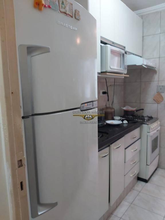 apartamento com 2 dormitórios à venda, 50 m² por r$ 260.000,00 - vila carrão - são paulo/sp - ap2411