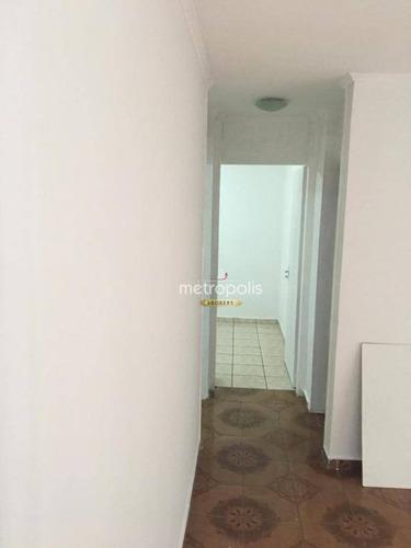 apartamento com 2 dormitórios à venda, 50 m² por r$ 275.000,00 - são josé - são caetano do sul/sp - ap2625