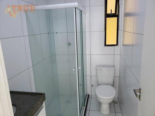apartamento com 2 dormitórios à venda, 50 m² por r$ 290.000 - casa amarela - recife/pe - ap3413