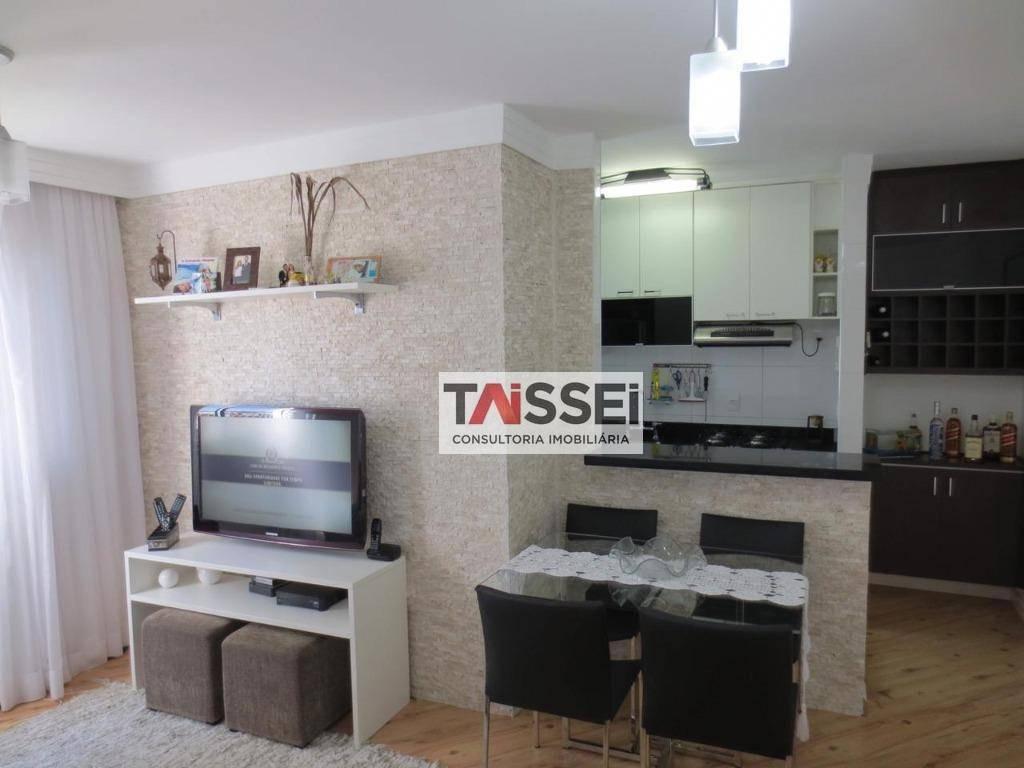apartamento com 2 dormitórios à venda, 50 m² por r$ 293.000,00 - ipiranga - são paulo/sp - ap6211