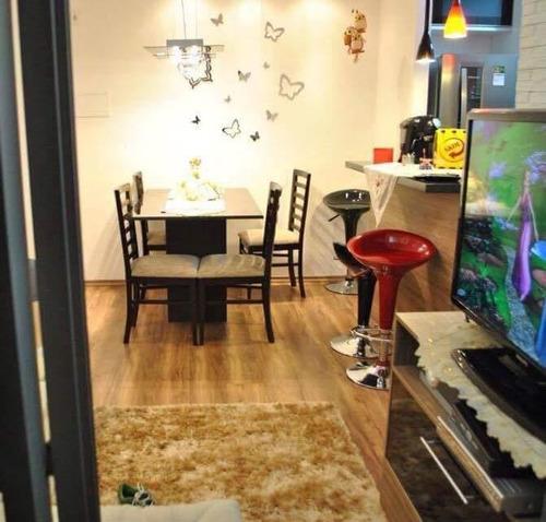 apartamento com 2 dormitórios à venda, 50 m² por r$ 310.000 - vila carrão - são paulo/sp - ap11731