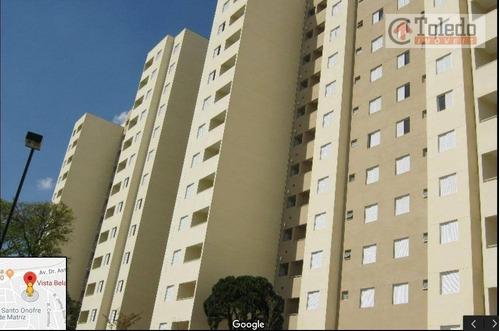apartamento com 2 dormitórios à venda, 50 m² por r$ 318.000 - engenheiro goulart - são paulo/sp - ap0276
