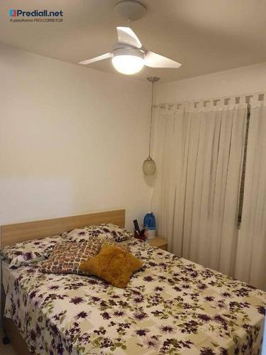apartamento com 2 dormitórios à venda, 50 m² por r$ 350.000 - vila guilherme - são paulo/sp - ap3793