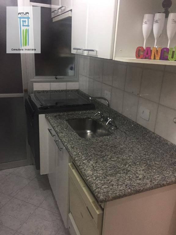 apartamento com 2 dormitórios à venda, 50 m² por r$ 350.000,00 - lauzane paulista - são paulo/sp - ap0879