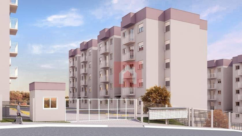 apartamento com 2 dormitórios à venda, 51 m² por r$ 147.000,00 - monte pasqual - farroupilha/rs - ap0439