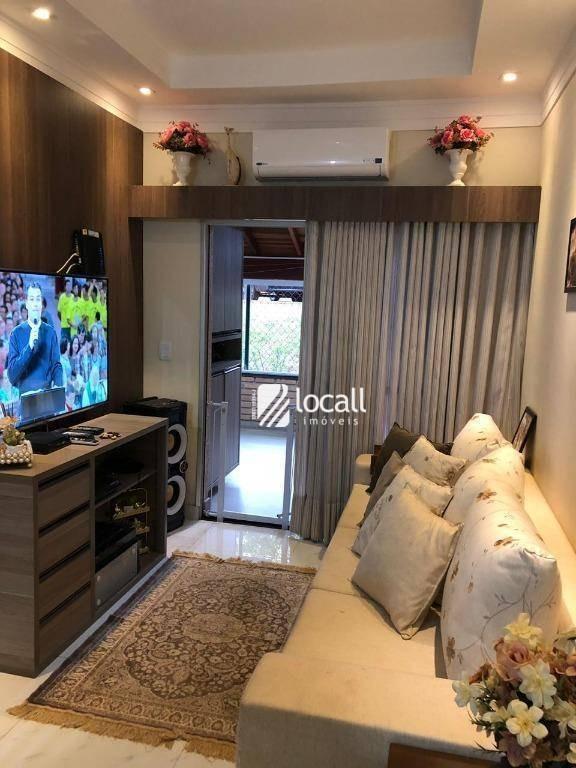 apartamento com 2 dormitórios à venda, 51 m² por r$ 220.000 - vila são judas tadeu - são josé do rio preto/sp - ap1627