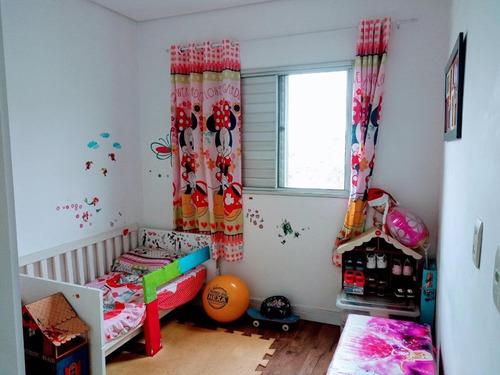 apartamento com 2 dormitórios à venda, 51 m² por r$ 260.000 - vila curuçá - são paulo/sp - ap11877