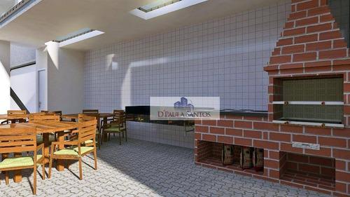 apartamento com 2 dormitórios à venda, 51 m² por r$ 269.900,00 - tatuapé - são paulo/sp - ap0082
