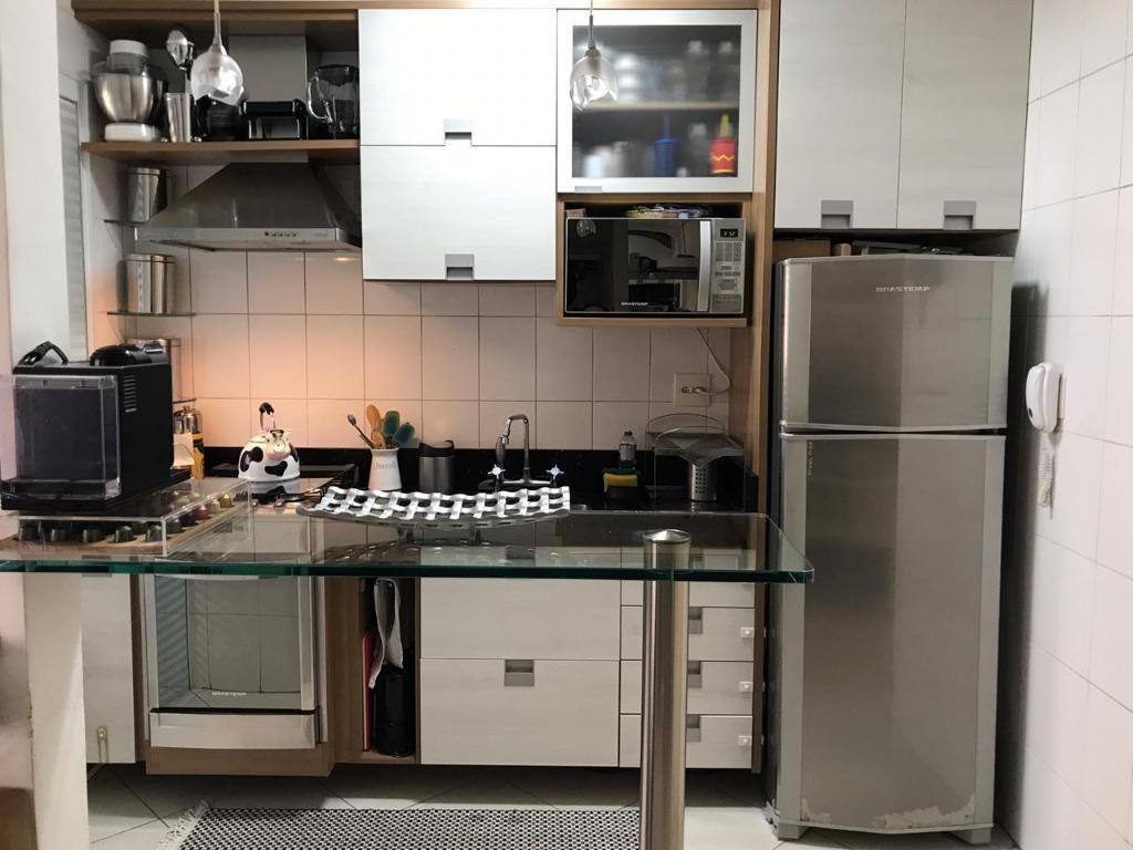 apartamento com 2 dormitórios à venda, 52 m² - assunção - são bernardo do campo/sp - ap62240